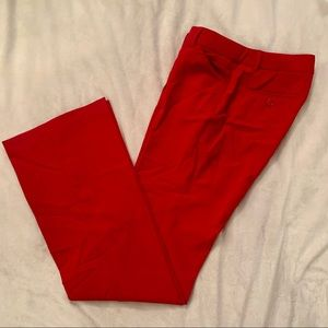 Body by Victoria's Secret red dress pant